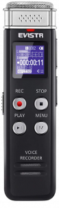 EVISTR 16GB Digital Voice Recorder