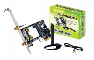 Gigabyte GC-WB867D-I REV Bluetooth 4.2 Dual Frequency Expansion Card
