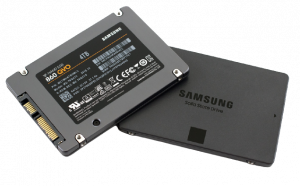 Samsung 860 QVO solid-state drive